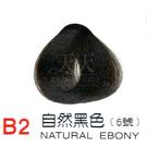 【燙後染髮】奇靈鳥 二代染髮劑 B2-自然黑色 [39249]