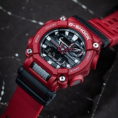 CASIO 卡西歐 G-SHOCK 潮流工業風雙顯計時手錶-紅 GA-900-4A