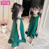 618好康鉅惠公主裙洋氣裙子時尚夏季韓版兒童連身裙