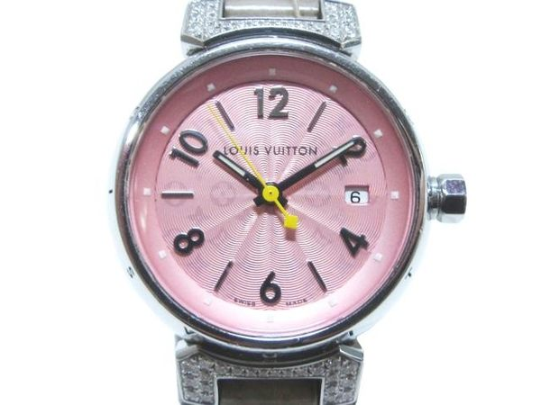 LOUIS VUITTON 路易威登 LV GMT Watch 腕錶 Q121E【BRAND OFF】