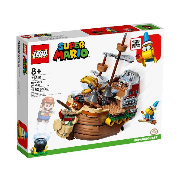 LEGO 樂高 Mario - 庫巴飛行船Bowser s Airship Expansion Set 71391