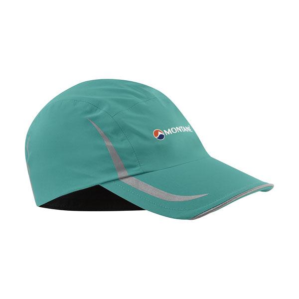 [MONTANE] Pace 反光防水透氣帽 SG綠藍 (HPACA-SIB)