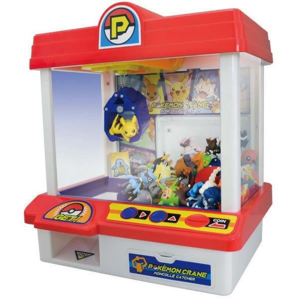 【震撼精品百貨】神奇寶貝 Pokemon~POKÉMON TOMICA 新二代 神奇寶貝抓抓機(內附3公仔) 娃娃機