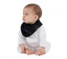 紐西蘭 Mum 2 Mum 機能型神奇三角口水巾圍兜-黑 吃飯衣 口水衣 防水衣