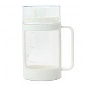 ASVEL多彩玻璃調味油罐350ml-白