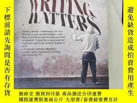 二手書博民逛書店writing罕見matters second edition(A001)Y173412