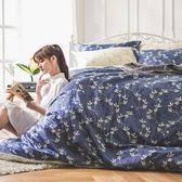 床包被套組 / 雙人加大【浮草之詩】含兩件枕套  AP-60支精梳棉  戀家小舖台灣製AAS312