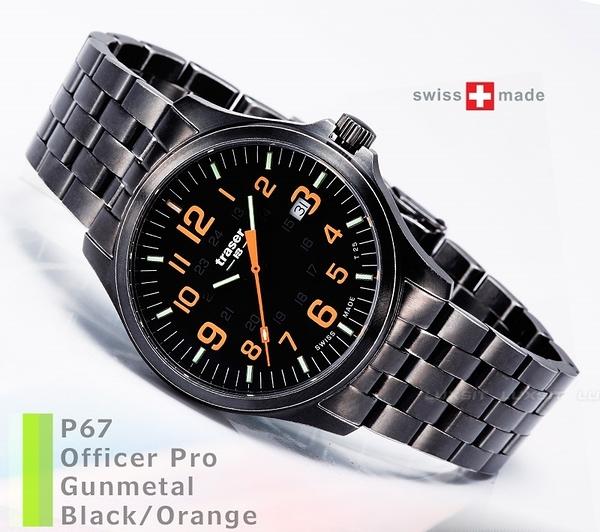 瑞士Traser Officer Pro GunMetal-(公司貨)#107870