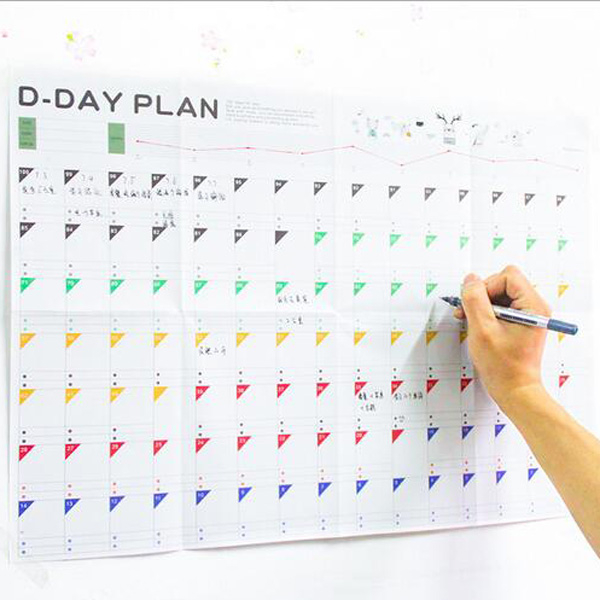 【BlueCat】D-DAY PLAN 倒數計時100天計劃表 日程表