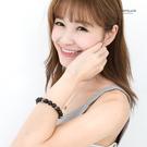 手環   時尚黑色大串珠骷髏頭造型手環手鍊  街頭流行搶眼必備單品 【NA268】單條價格