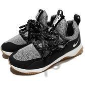 Nike 休閒慢跑鞋 Wmns City Loop 黑 灰 白底 粗鞋帶 襪套式 運動鞋 女鞋【PUMP306】 AA1097-003
