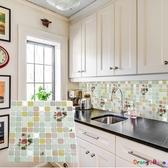 【橘果設計】多款韓版3D立體水晶馬賽克壁貼 牆貼 壁紙