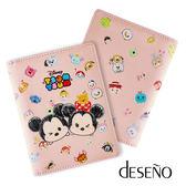 Deseno Disney 迪士尼 TSUMTSUM 手繪風 粉嫩色系 童趣 皮革 護照夾 B1135-0015