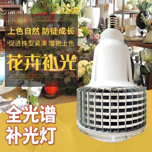 植物補光燈 多肉補光燈 上色全光譜LED植物生長燈室內家用大棚花卉仿太陽光 裝飾界 免運