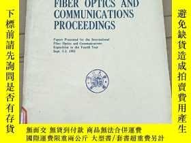 二手書博民逛書店FOC罕見81 fiber optics and communications proceedings(P2707