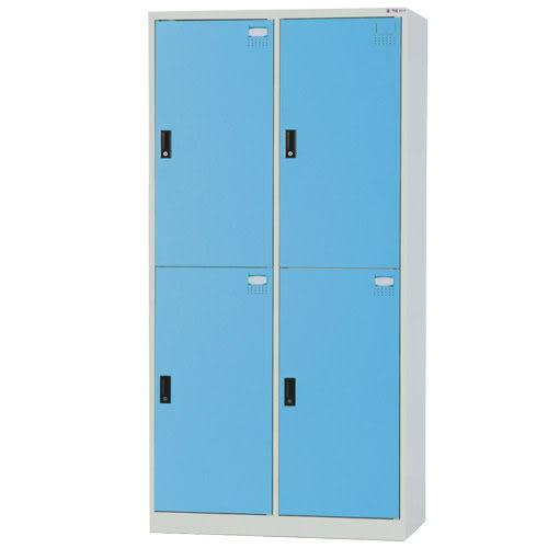 【時尚屋】HDF多用途3x6尺鋼製4人置物櫃(免組裝)(免運費)(台灣製)