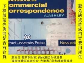二手書博民逛書店A罕見Handbook of Commercial CorrespondenceY271477 西班牙語 Ox