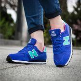 NEW BALANCE 女 WL373 紐巴倫 復古鞋  藍/粉 -WL373BGP