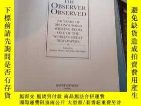 二手書博民逛書店The罕見Observer Observed cY144640