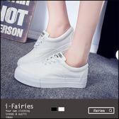5天出貨★厚底帆布鞋休閒鞋★ifairies【56568】