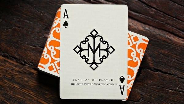【USPCC撲克】HUSTLERS ORANGE 橘色 Playing Cards by Daniel Madison