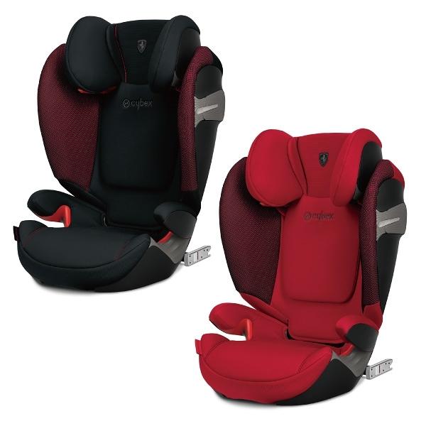 【輸碼RE500折500再贈提把背包】Cybex Solution S-FIX 安全座椅/汽座 法拉利限定款(黑/紅)