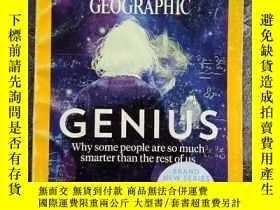 二手書博民逛書店《NATIONAL罕見GEOGRAPHIC》國家地理雜誌 期刊 2017年5月 英文版 GENIUS·CENTRA