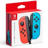 [哈GAME族]免運費●送蘑菇頭一對●Switch 原廠 Joy-Con 藍紅 電光藍 電光紅 左右手控制器 LR腕帶