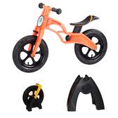 【虎兒寶】兒童平衡滑步車組合 -AIR 充氣胎 +置車架(橘)【屈臣氏】