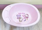【震撼精品百貨】凱蒂貓_Hello Kitty~三麗鷗 KITTY 台灣製兒童用澡盆-粉#07952