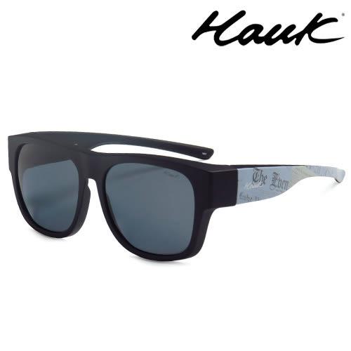 HAWK偏光太陽套鏡(眼鏡族專用)HK1603-BK1