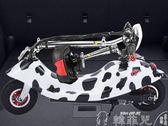 電動滑板車 小海豚女性迷你電瓶車小型電動車成人折疊電動滑板車小電動代步車 mks韓菲兒