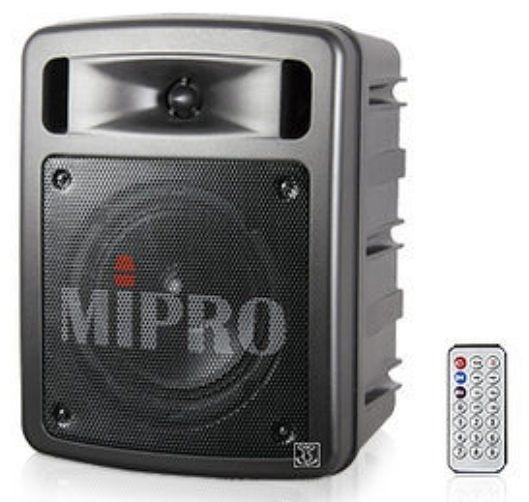 MIPRO MA-303su 40W袖珍型單頻可錄式USB手提式無線擴音機