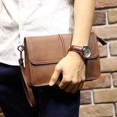 韓版男手拿包 手機零錢小包《印象精品》y372