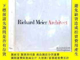 二手書博民逛書店Richard罕見Meier Architect, Vol. 1 (1964-1984)-理查德·梅爾建築師,第一
