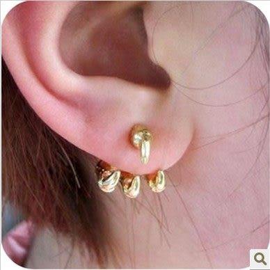 ►耳環 新款復古鷹爪耳釘 歐美飾品耳飾 歐美飾品【B1107】