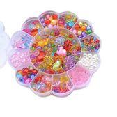 兒童串珠玩具diy益智 寶寶穿珠子女孩手工項鍊生日禮物益智玩具
