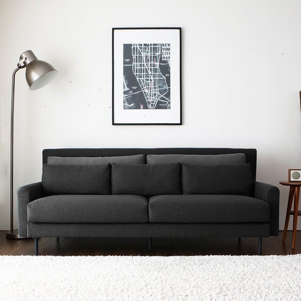 預購六月中上旬 三人沙發 INGRID英格利。舒適三人布沙發 / 2色 / H&D 東稻家居
