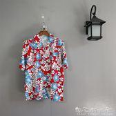 島服夢藍椰服男士襯衣沙灘服旅游度假服飾 夏威夷花襯衫c03 晴天時尚館