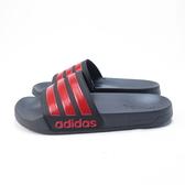 Adidas ADILETTE SHOWER 運動拖鞋 防水 EG1884 男女款 黑底紅線【iSport愛運動】