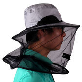 米卡諾 防蚊帽釣魚帽子防曬帽遮陽帽防紫外線夜釣帽帳篷帽漁具  極有家