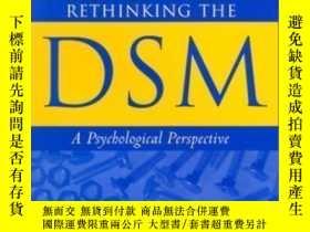 二手書博民逛書店Rethinking罕見The Dsm: A Psychological Perspective (decade