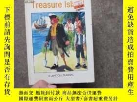 二手書博民逛書店外文書罕見treasure island (金銀島Y20865