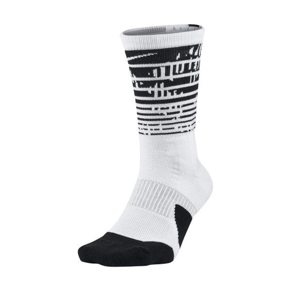 Nike Elite Crew 白 黑 菁英氣墊襪 籃球長襪 中筒襪 DRI-FIT 襪子 1.5 Plus SX7009-100