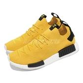adidas 休閒鞋 NMD_R1 PK 黃 黑 愛迪達 三葉草 BOOST 男鞋【ACS】 S23749