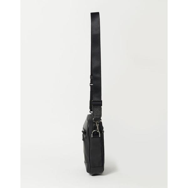 MSPC(master-piece) DEX No.525153 [異材質拼成熟都會感側背包-黑色]