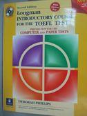 【書寶二手書T4/語言學習_QBB】Longman Introductory Course for the Toefl