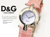 【完全計時】手錶館│D&G 普普藝術 優雅永恆腕錶 經典流線女錶 DW0457 粉 畢業禮物 淑女甜心