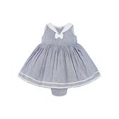 mothercare 灰氣質無袖洋裝-女孩與沙灘(M0SF037)03、06、12、24個月