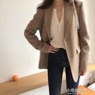 西裝外套 小西裝外套女新款韓版修身休閒網紅西服爆款上衣設計感小眾 【全館免運】
